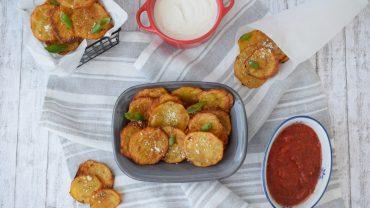Chipsuri din cartofi la cuptor