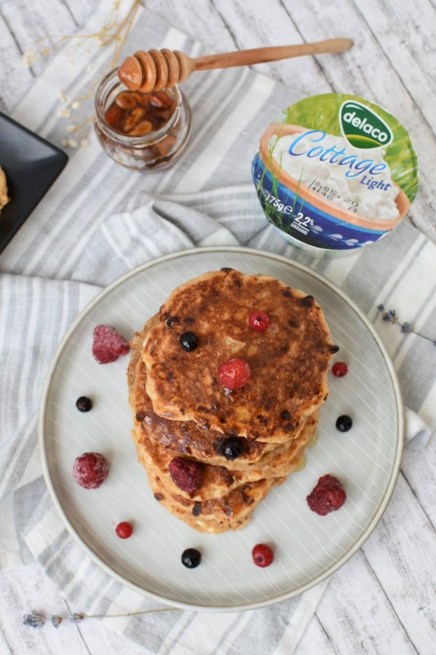 Pancakes cu cottage cheese - foodieopedia.ro