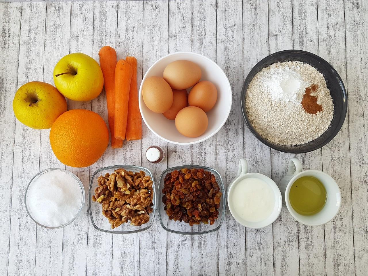 Ingrediente blat Carrot Cake - foodieopedia.ro