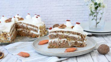 Carrot Cake cu crema de branza