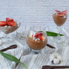 Mousse de ciocolata cu aquafaba - foodieopedia.ro