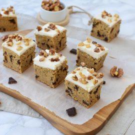Prajitura cu dovleac, ciocolata și nuca - foodieopedia
