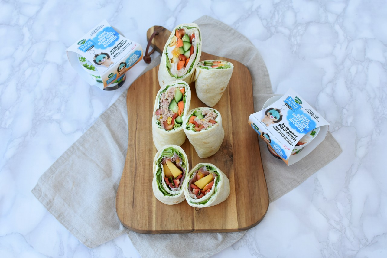 Sandwich-uri in lipie - foodieopedia