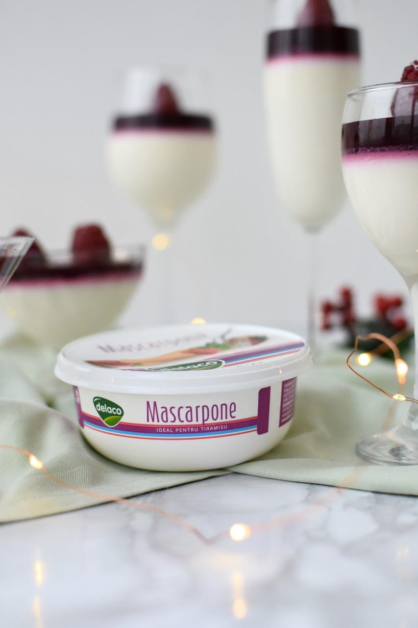 Panna Cotta cu mascarpone si Prosecco - foodieopedia