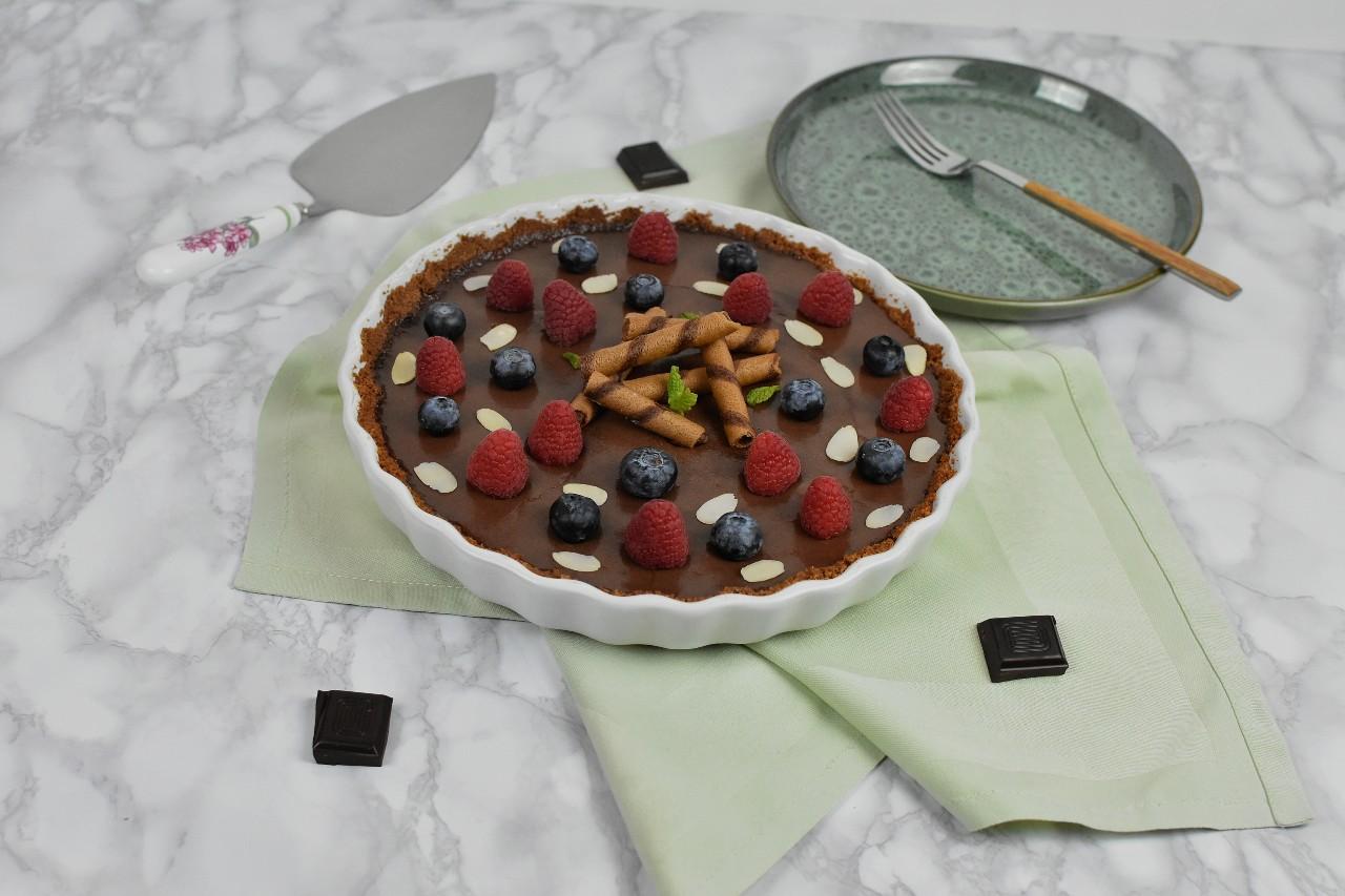 Tarta cu ciocolata si tahini - foodieopedia