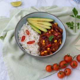 Chili con carne vegana - Nicoleta Catargiu