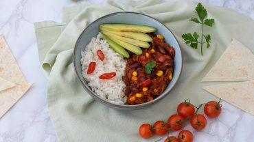 Chili con carne vegana