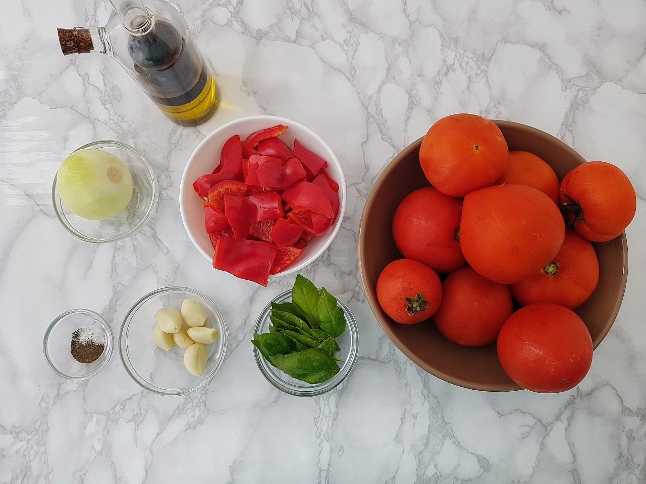 Supa crema de rosii coapte - foodieopedia